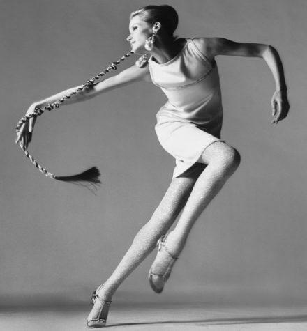 Black and white photo of Veruschka taken by Richard Avedon