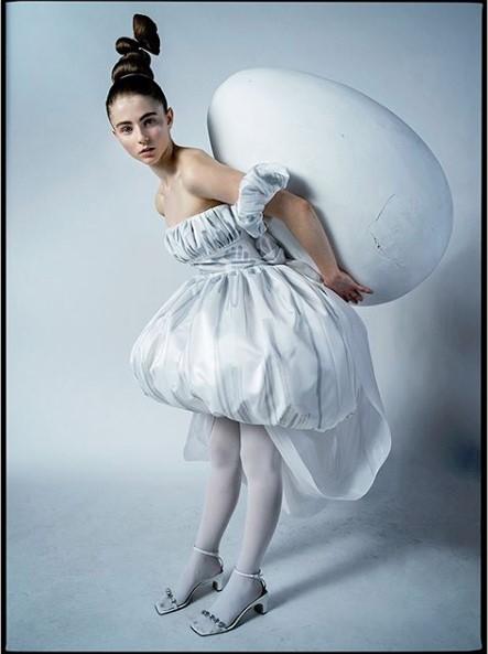 Tim Walker photo of actress Thomsin Mckenzie for W Magazine